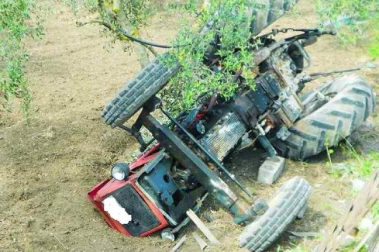 Αποτέλεσμα εικόνας για Θανάσιμος τραυματισμός με γεωργικό ελκυστήρα