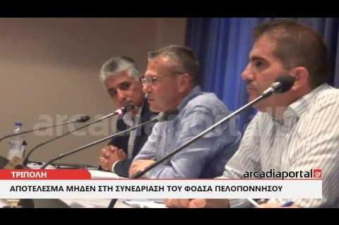 ArcadiaPortal.gr Άγνοια, ανευθυνότητα και αποτέλεσμα μηδέν στον ΦΟΔΣΑ Πελοποννήσου